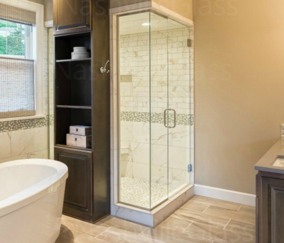 Custom Bathroom Glass
